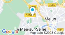 Plan Carte Piscine du Mée-sur-Seine