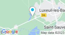 Plan Carte Piscine des 7 Chevaux à Luxeuil-les-Bains
