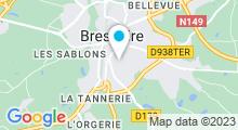 Plan Carte Centre aquatique Coeur d'O - Piscine à Bressuire