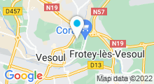 Plan Carte Piscine des Canetons à Vesoul