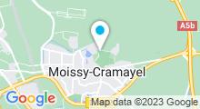 Plan Carte Centre aquatique Nymphéa - Piscine à Moissy-Cramayel