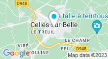 Plan Carte Piscine de Celles sur Belle