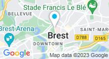 Plan Carte Piscine Foch à Brest