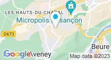 Plan Carte Piscine La Fayette à Besançon