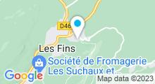 Plan Carte Centre Nautique du Val de Morteau - Piscine à Les Fins