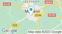Plan Carte Piscine Aquadel à Mauléon