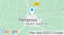 Plan Carte Piscine de Pamproux