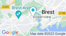 Plan Carte Piscine de Recouvrance à Brest
