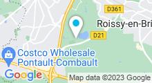 Plan Carte Piscine Le Nautil à Pontault-Combault