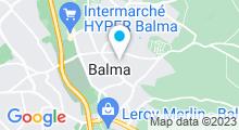 Plan Carte Piscine à Balma