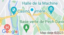 Plan Carte Piscine Bellevue de Toulouse