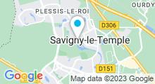 Plan Carte Stade nautique Jean Bouin - Piscine à Savigny-le-Temple