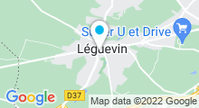 Plan Carte Piscine à Leguevin