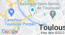 Plan Carte Piscine Chapou de Toulouse