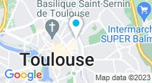 Plan Carte Piscine Léo Lagrange à Toulouse