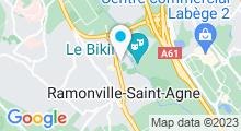 Plan Carte Piscine Alex Jany à Ramonville St Agne