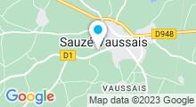 Plan Carte Piscine à Sauzé Vaussais