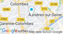 Plan Carte Centre aquatique - Piscine de Bois-Colombes