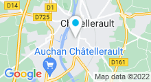 Plan Carte Centre aquatique - Piscine à Chatellerault