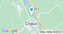 Plan Carte Centre aquatique - Piscine Abyssea à Civaux