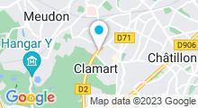 Plan Carte Piscine du Bois à Clamart