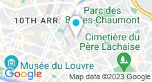 Plan Carte Piscine Catherine Lagatu (anciennement Parmentier) à Paris (10e)