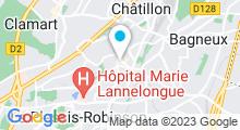 Plan Carte Piscine de Fontenay-aux-Roses