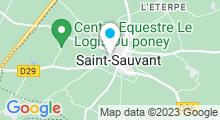 Plan Carte Piscine Pérochon-Souche de St Sauvant