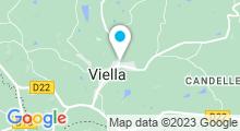 Plan Carte Piscine à Viella