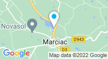 Plan Carte Piscine ludique à Marciac