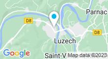 Plan Carte Piscine de Luzech