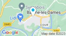 Plan Carte Piscine de Baume-les-Dames