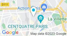 Plan Carte Piscine Hébert à Paris (18e)