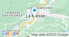 Plan Carte Complexe Piscine Loisirs à La Bresse