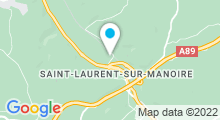 Plan Carte Piscine de St-Laurent-sur-Manoire - Boulazac-Isle-Manoire