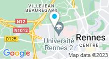 Plan Carte Piscine Villejean à Rennes