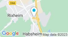 Plan Carte Piscine de Rixheim-Habsheim - Centre Nautique Île Napoléon