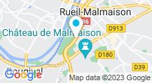 Plan Carte Piscine des Closeaux à Rueil-Malmaison