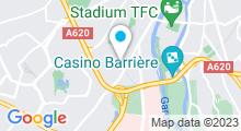 Plan Carte Piscine Papus à Toulouse