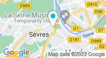 Plan Carte Piscine de Sèvres