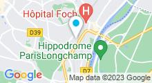 Plan Carte Piscine du Centre Sportif des Raguidelles à Suresnes
