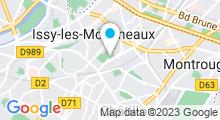 Plan Carte Piscine Roger Aveneau à Vanves