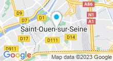 Plan Carte Espace Aquatique Auguste Delaune - Piscine à Saint-Ouen