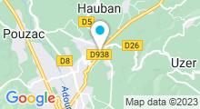 Plan Carte Stade nautique André de Boysson - Piscine à Bagnères de Bigorre