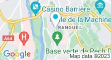Plan Carte Piscine Pech David de Toulouse
