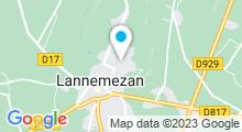 Plan Carte Piscine à Lannemezan