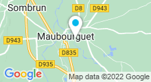 Plan Carte Piscine à Maubourguet