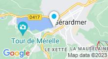 Plan Carte Piscine du Quai du Locle de Gerardmer