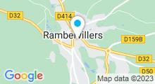 Plan Carte Piscine Pierre Kempf de Rambervillers
