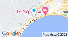 Plan Carte Piscine Jean Médecin à Nice